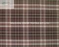 Plaid Dye Yarn TR Fabric