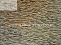 時尚老虎紋超細短毛絨