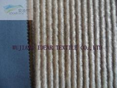 针织长毛绒复合布