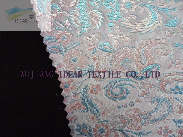 Jacquard Fabric Bonded With Cotton Fabric 1