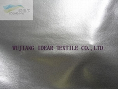 Brilliant PU Knitted Fabric