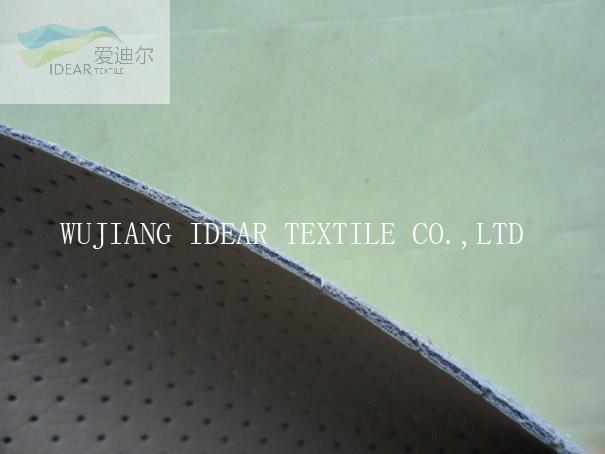 高質量合成穿孔PVC皮革 3