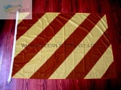 Diagonal Strips Flags