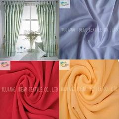 50D+50Dx75D 染色缎纹桃皮绒面料 家纺面料