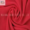 50D+50Dx75D 染色缎纹桃皮绒面料 家纺面料 3