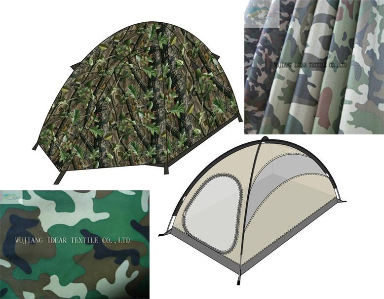 迷彩帐篷布 1