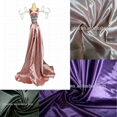 Polyester Light Satin Fabric for Dress