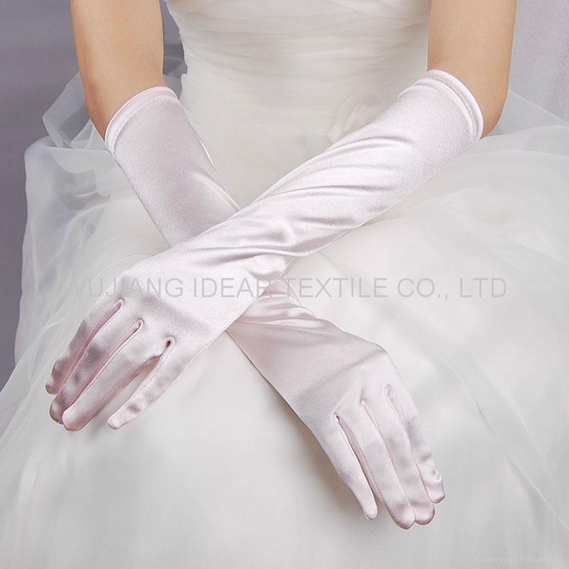 婚礼色丁面料 1