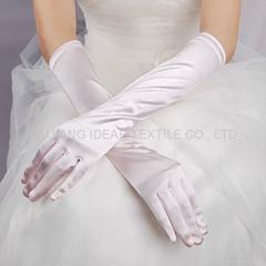 婚礼色丁面料