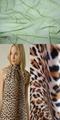 100% Polyester Printed Koshibo Fabric