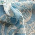 印花水洗绒 沙滩裤面料 2
