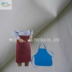 21S TC65/35滌棉面料 制服圍裙面料