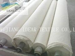 21s Plain Polyester Cotton Blended Greige Cloth/TC Plain Fabric 65/35