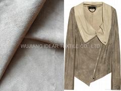 35%涤纶65%棉麂皮绒 夹克衫 外套面料