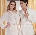 珊瑚绒布料 睡袍 居家袍面料
