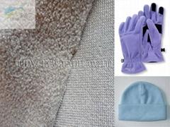 100%涤纶单面磨毛摇粒绒