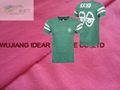 Polyester Plain Single Jersey for T-shirt
