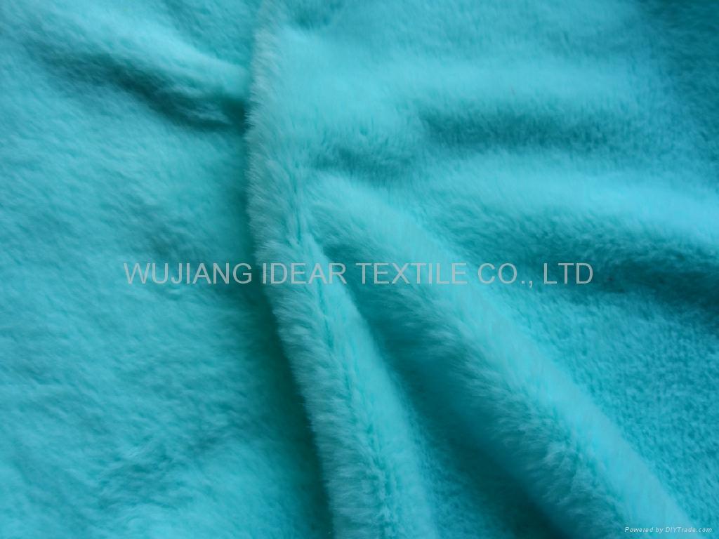 超柔扁平绒 扁平丝短毛绒 玩具 毛毯 冬季手套面料 3