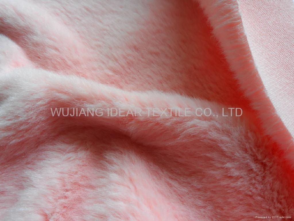 超柔扁平绒 扁平丝短毛绒 玩具 毛毯 冬季手套面料 4