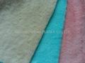 超柔扁平絨 扁平絲短毛絨 玩具 毛毯 冬季手套面料 5