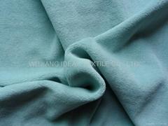80%滌綸20%棉彈力天鵝絨 家紡面料