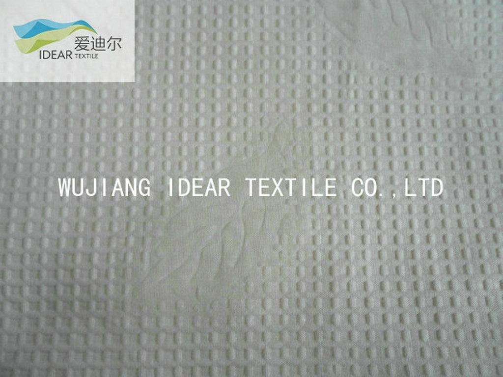 Printed Pure Cotton Seersucker Fabric
