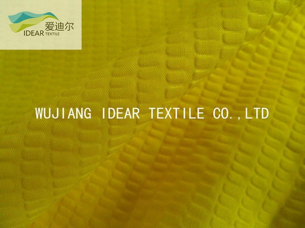 65%棉35%涤纶泡泡布 窗帘面料 1
