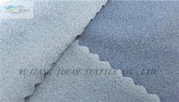 Imitation Wool Knitted Fabric Bonded Warp Suede 2