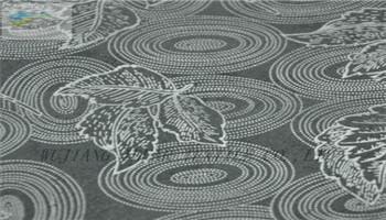 印花植绒针织复合布 2