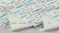 印花植绒复合针织布 2