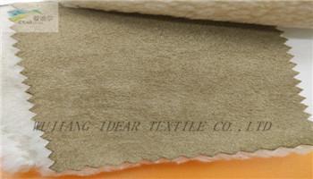 大象皮麂皮絨復合針織布 2