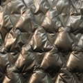Filled fabric with triangular pattern