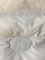 Custom letter down fabric
