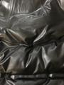 Striped down fabric