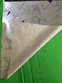 Custom reflective fabric with geometric design 1