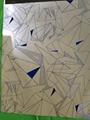 Custom reflective fabric with geometric design 4