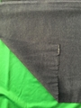 Dual color cationic knitted fabric