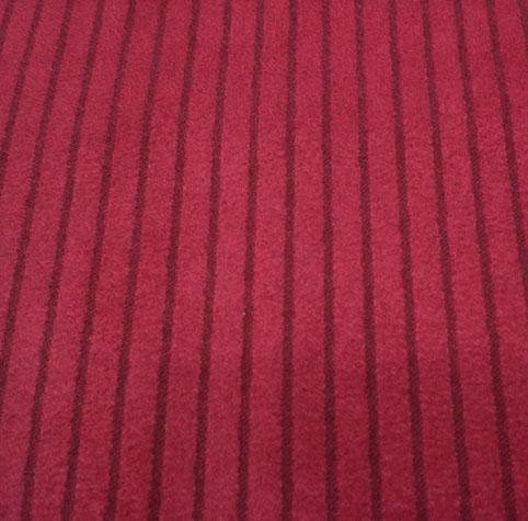 stripe suede fabric
