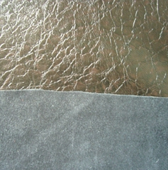polyester suede PU leather