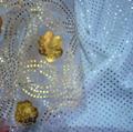 Silver / Foiled Chiffon