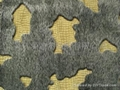 Flocking fabric (imitated ermine fur)