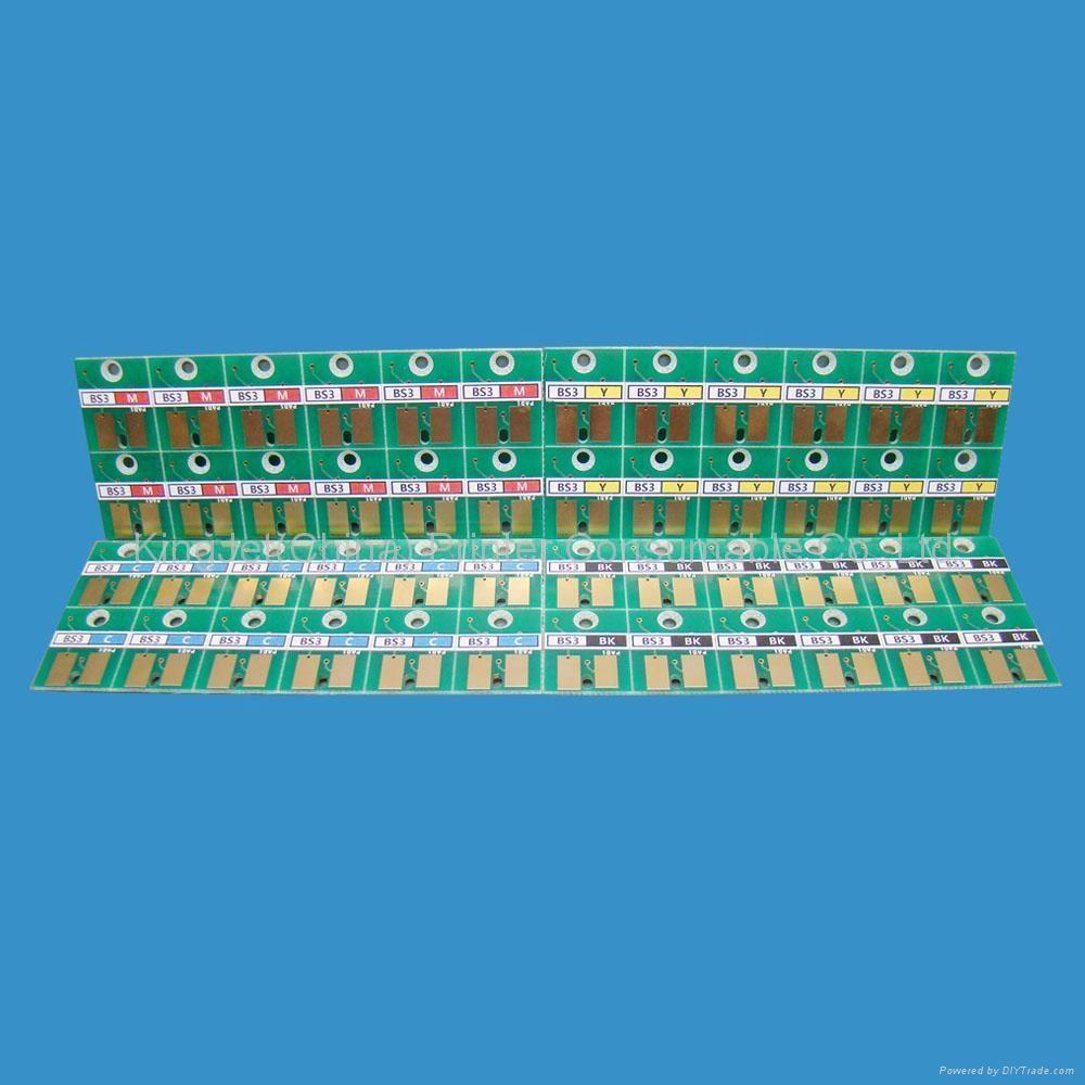 的日本御牧JV3 BS3 SS21系列打印机墨盒的自动芯片、  芯片 1