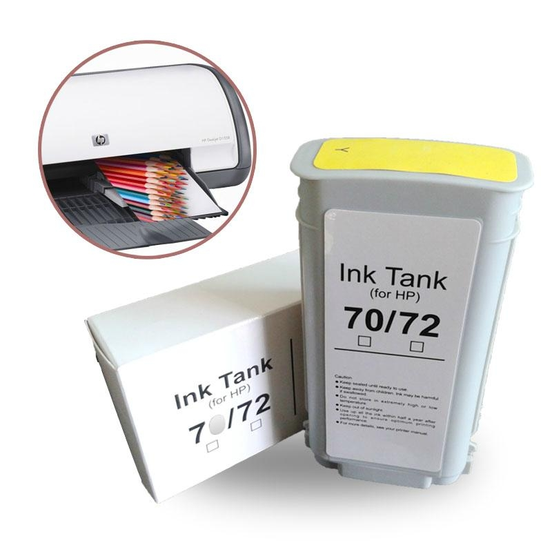 high quality direct from china inkjet cartridge for hp 72 70 printer 4