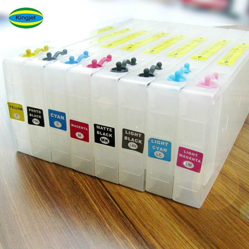 high quality products refillable ink cartridge for epson4800 4880 printer 6