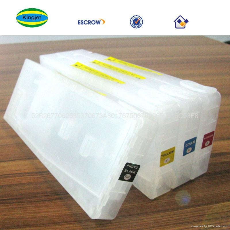 refillable ink cartridge for epson 7600 9600 4000 3