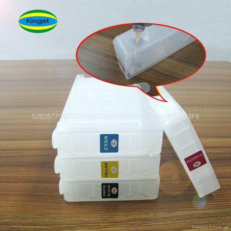refillable ink cartridge for epson 7600 9600 4000 4
