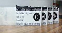 440ml refill ink cartridge K/C/M/Y high quality for mimaki jv33 cartridge