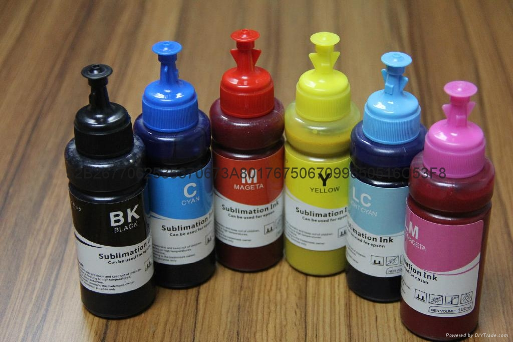 Sublimation Ink For EPSON R210/230/270/ME10/ME101/ME201/1390/4450/ 4