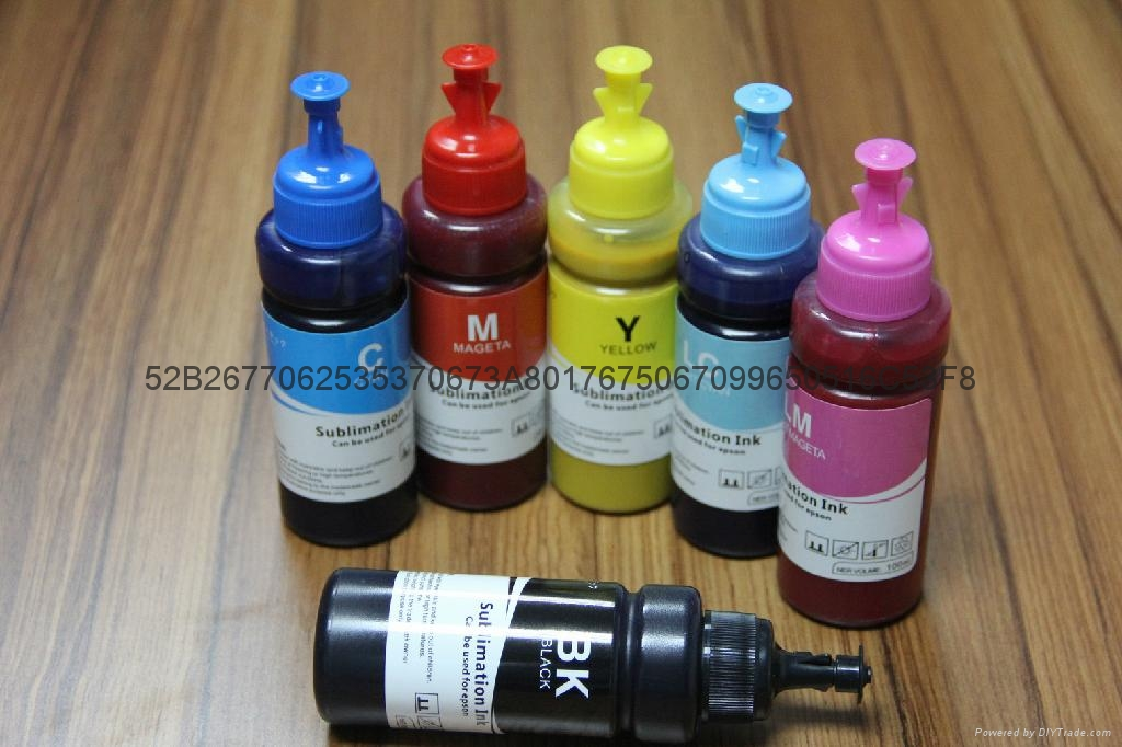 Sublimation Ink For Epson 1410/R2400/RX510/RX420/RX520/RX500/780 5