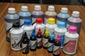 waterbase dye ink 100ml 500ml 1000ml packing good quality 4